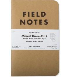 Field Notes 3-Pack Mix Paper Picutre