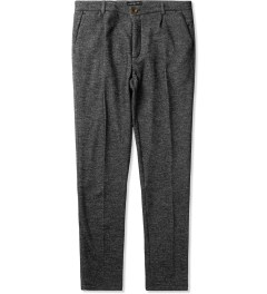Commune De Paris Marl Grey Fleece GN4-03 Pants Picutre