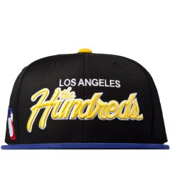 The Hundreds Black Team Two Snapback Picutre