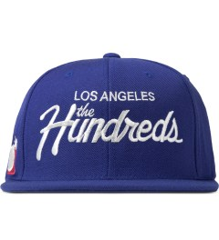 The Hundreds Blue Forever Team Snapback Cap Picutre