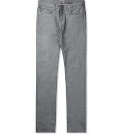Naked & Famous Silver/Grey Reflective Skinny Guy Jeans Picutre