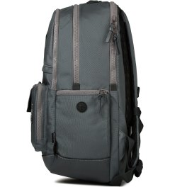 The Earth Grey Black Label 3 Daypack Backpack Model Picutre