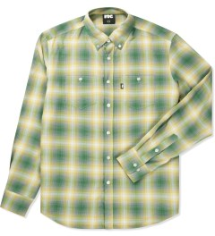 FTC Yellow Tartan Plaid B.D Shirt Picutre