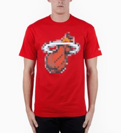 Hall of Fame Red Bitmap Caliente T-Shirt Model Picutre
