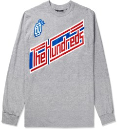 The Hundreds Athletic Heather Motion L/S T-Shirt Picutre