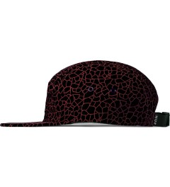 HUF Black Quake Volley 5-Panel Cap Model Picutre