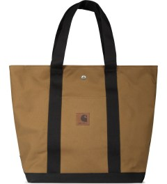 Carhartt WORK IN PROGRESS Hamilton Brown/Black Simple Tote Bag Picutre