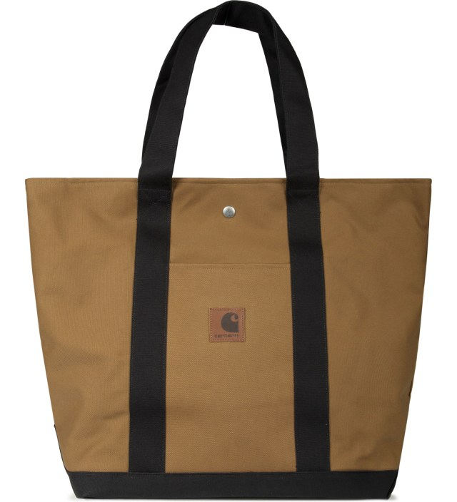 Hamilton Brown/Black Simple Tote Bag