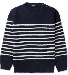 A.P.C. Dark Navy Marin Pullover Sweater Picutre