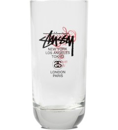 Stussy Clear World Tour Glass Picutre