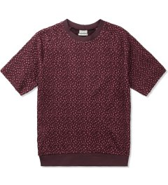 Paul Smith Pink Textured Jacquard Short Sleeve Sweatshirt Picutre