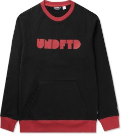 Undefeated Black Capitol Crewneck Sweater Picutre