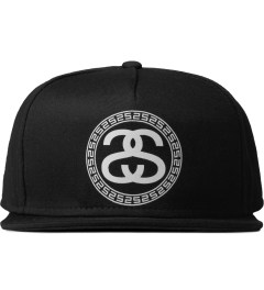 Stussy Black Greek Cap Picutre
