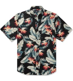 HUF Black Birds of Paradise S/S Woven Shirt Picutre