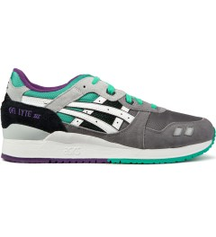 ASICS Grey/White Gel-Lyte III Shoe Picutre