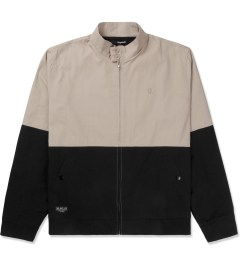The Quiet Life Tan/Black Harrington Coach Jacket Picutre