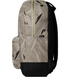 Herschel Supply Co. Geo/Black Settlement Backpack Model Picutre