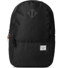 Herschel Supply Co. Black/Black Rubber Nelson Backpack Picutre