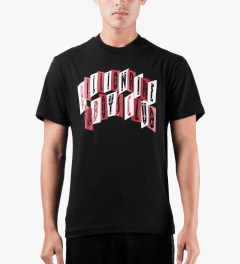 Billionaire Boys Club Black S/S Havoc Arch T-Shirt Model Picutre