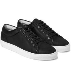 ETQ Dark Anthracite Low Top 1 Sneakers Model Picutre