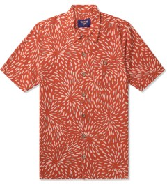 Lightning Bolt Cherry Tomato Fireworks Aloha Shirt Picutre