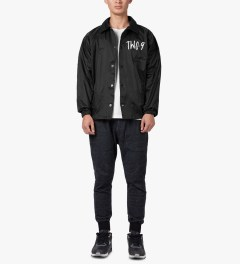 Two-9 Black Gravedirt Coacher's Jacket Model Picutre