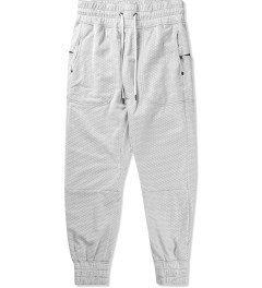 Thing Thing White Ronin Trackie Mesh Pants Picutre