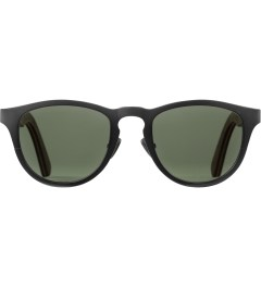 Shwood Gun Metal Titanium/Walnut Francis: G15 Polarized Sunglasses Picutre
