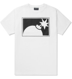 The Hundreds White Forever Half-bomb T-Shirt Picutre