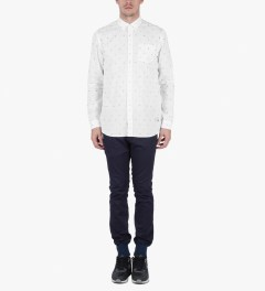 Libertine-Libertine White/Black Hunter Shirt Model Picutre