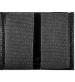 POSTALCO Black Geology Goatskin Card Holder Model Picutre