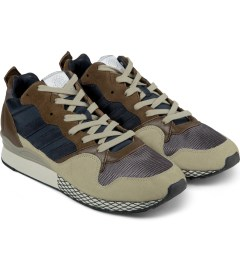 adidas Originals Beige/Blue/Brown ZXZ 930 84-Lab Shoes Model Picutre
