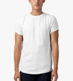 Publish White Burne Knits T-Shirt Model Picutre