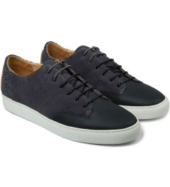 Thorocraft Dark Grey Cooper Shoes Model Picutre