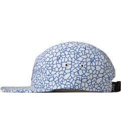 HUF White Quake Volley 5-Panel Cap Model Picutre