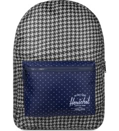 Herschel Supply Co. Houndstooth/Navy Polka Dot Packable Daypack Picutre