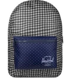 Herschel Supply Co. Houndstooth/Navy Polka Dot Packable Daypack Picutre