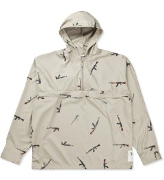 Mark McNairy for Heather Grey Wall Beige AK47 Pullover Jacket Picutre