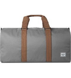 Herschel Supply Co. Grey/Tan Ravine Duffle Bag Picutre