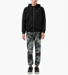 Uppercut Mercurio Black Five Rocks Sweatpants Model Picutre