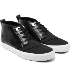 LOSERS Dark Black Chukker TE Shoe Model Picutre