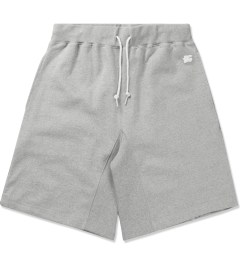 Hall of Fame Heather Grey Tiger Tech Shorts Picutre