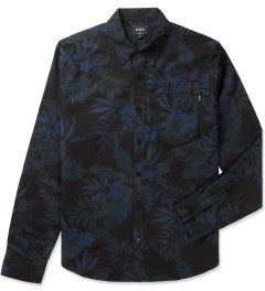 HUF Midnight Floral L/S Woven Shirt Picutre