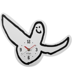 SECOND LAB MARK GONZALES x SECOND LAB White Gonz Clock Picutre