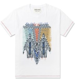 Henrik Vibskov White Four Men Print Smash T-Shirt Picutre