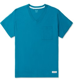 Deluxe Blue Caipirinha Pocket V-neck T-Shirt Picutre