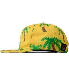10.Deep Yellow Locals Only 6-Panel Cap Model Picutre
