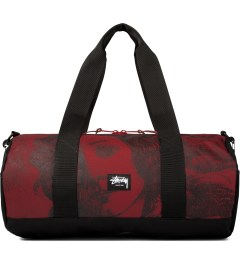 Stussy Red World Tour Large Duffle Bag Picutre