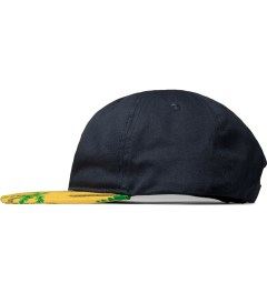 10.Deep Blue Local Native Snapback Cap Model Picutre