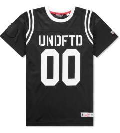Undefeated Black 00 Mesh Football T-Shirt Picutre